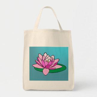 Organisk toto för lotusblomma tygkasse