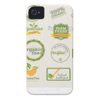 ORGANISKT iPhone 4 Case-Mate FODRAL
