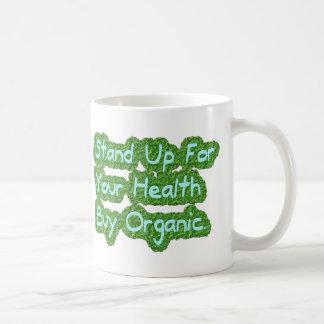 Organiskt köp kaffemugg