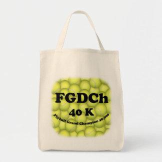 Organiskt livsmedel för FGDCh 40K Flyball ledar- Tygkasse