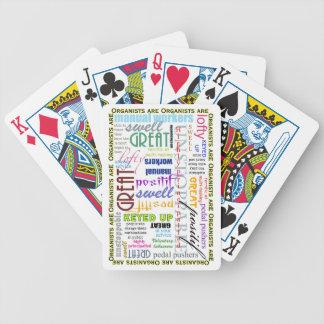 Organists är allt! leka kort spelkort