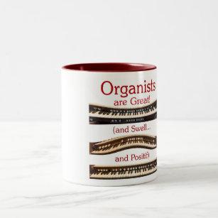 Organists är den underbara muggen Två-Tonad mugg