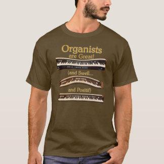 Organists är den underbara t-skjortan tshirts