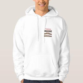 Organists är underbara hoodies tröja med luva