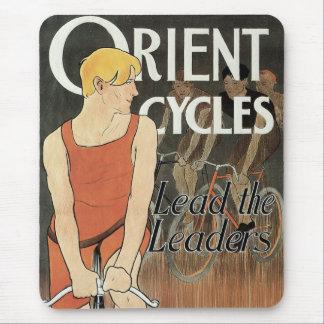 Orient cyklar art nouveaumusen vadderar mus matta