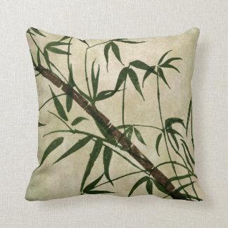 Orientalisk bambu 1 för vintage kudde