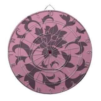 Orientalisk blomma - körsbärsröd choklad & darttavla