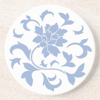 Orientalisk blomma - mönster för underlägg sandsten