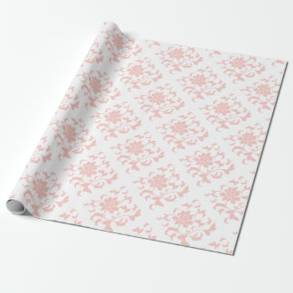 Orientalisk blomma - rosa kvart presentpapper