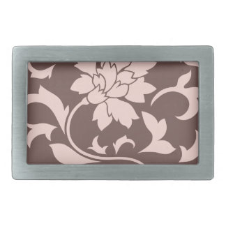 Orientalisk blomma - rosa kvartar & choklad