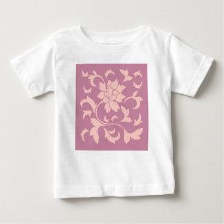 Orientalisk blomma - rosa kvartar & jordgubbe tröjor