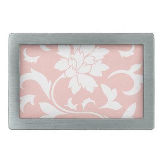 Orientalisk blomma - rosa kvartcirkulärmönster