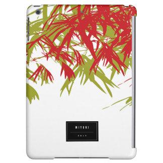 Orientalisk chic modern Zenbambu lämnar iPadfodral