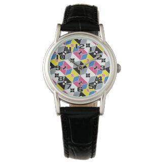 Orientaliska inspirerade diamanter och pilbågar armbandsur