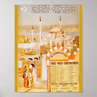 Orienten som är uttrycklig från Paris Poster