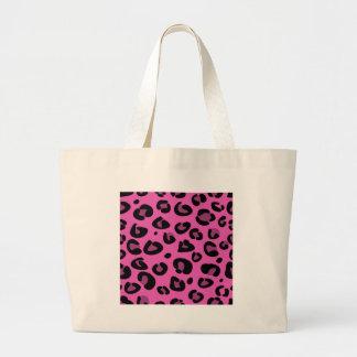 Original- formgivareupplaga: med jaguarmönster jumbo tygkasse