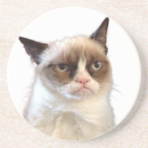 Original- Grumpy kattunderlägg Underlägg För Glas