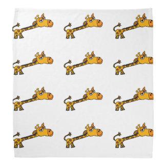 Original- konsttecknad för rolig giraff scarf