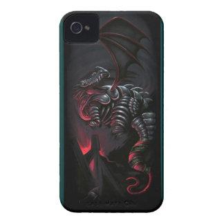 """Original- konstverk """"för metalldrake"""", blackberry iPhone 4 cover"""