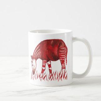 Original- konstverkmugg för Okapi Kaffemugg