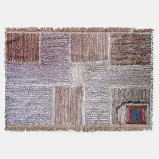 Original- läder mattar hantverket mysfilt