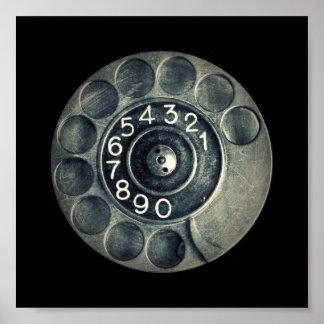 original- roterande telefon poster