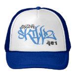Original- Skillz logotyp (ny blått Kepsar