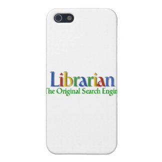 Original- sökandemotor för bibliotekarie iPhone 5 skal