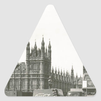 Original- stora ben foto 1953 triangelformat klistermärke