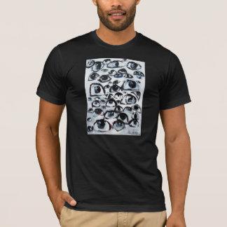 Original- t-skjorta för 47 ÖGON design av Lia Tee Shirts
