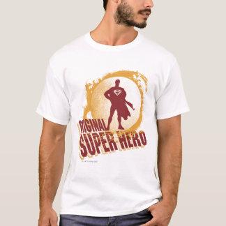 Original- toppen hjälte för stålman t-shirts