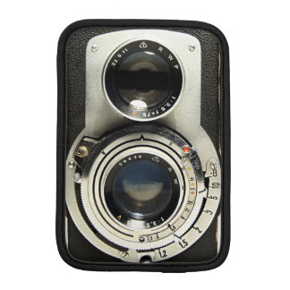 Original- vintagekamera sleeve för iPad mini