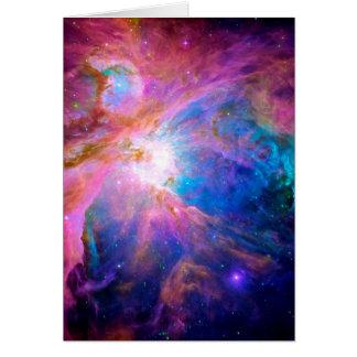 Orion Nebula Hälsningskort