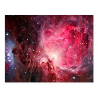 Orion nebula vykort