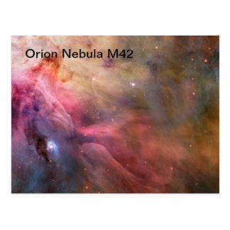 orion nebulavykort vykort