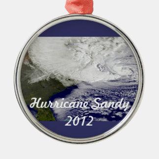 Orkan sandig 2012 julgransprydnad metall