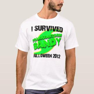 Orkan sandiga Frankenstorm Halloween 2012 T Shirts