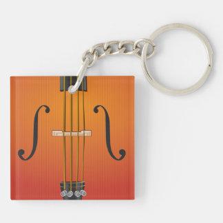 Orkester tvåsidiga Keychain