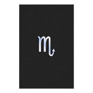 Orm Deco för svart för symbol för något liknande Brevpapper