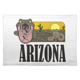 Orm som är statlig av Arizona USA: Skallerorm och Bordstablett