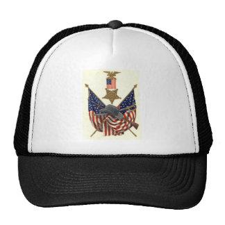 Örn för medalj för inbördeskrig för US-flagga Keps
