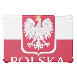 Örn för Polska flaggavit iPad Mini Skydd