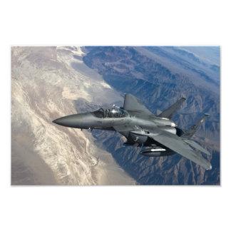 Örn för strejka F-15 Konstfoto