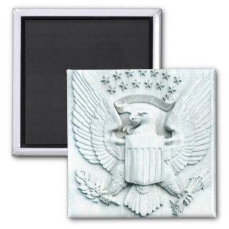Örn med stjärnor - Washington D C Magnet