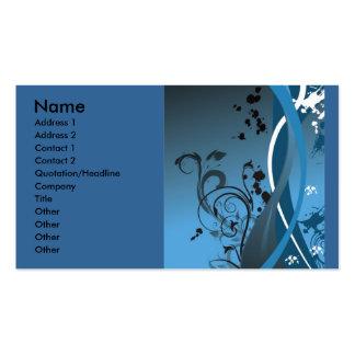 ornament1473_ www.Garcya.us, namn, adress 1, annon Set Av Standard Visitkort