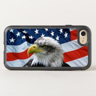 Örnamerikanska flaggan OtterBox symmetry iPhone 7 skal