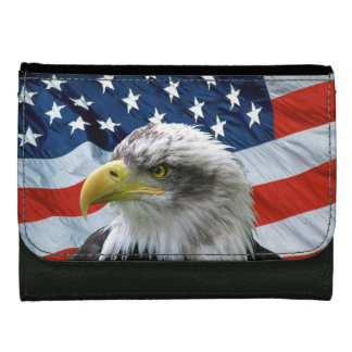 Örnamerikanska flagganplånbok