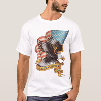Örnande av USA T-shirts