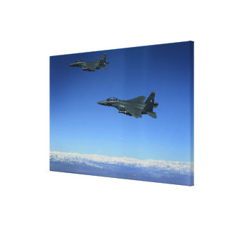 Örnar 2 för strejka för US-flygvapen F-15E Canvastryck