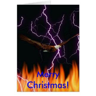 örnar armor, god jul! hälsningskort